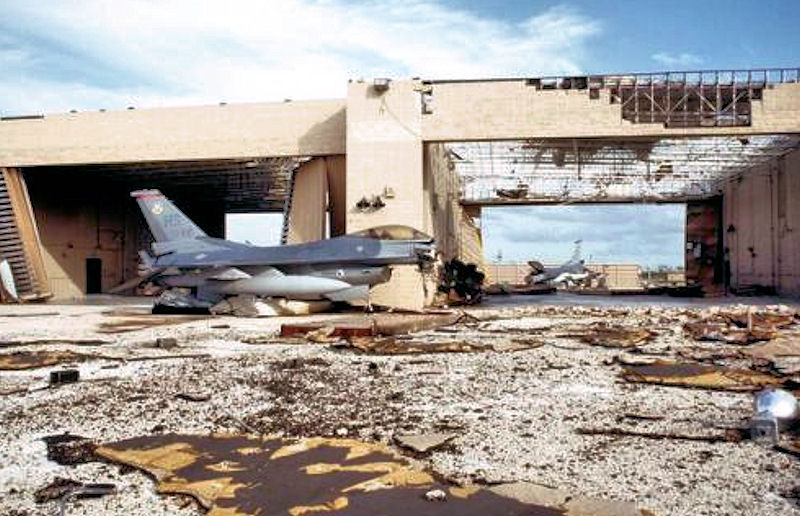 Hurricane Andrew 1992 Homestead AFB
