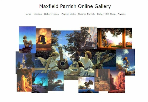 Maxfield Parrish Online Gallery